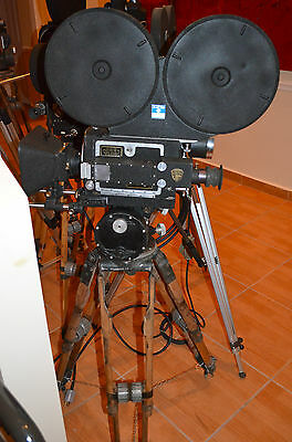 Antique MITCHELL 35mm Standard High Speed Motion Picture Camera Minty! L@@K