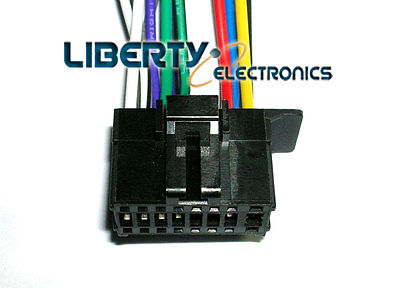 new 16 pin wiring wire harness for pioneer deh p7200hd