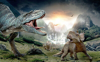 Dinosaur Giant Poster - A0 A1 A2 A3 A4 Sizes