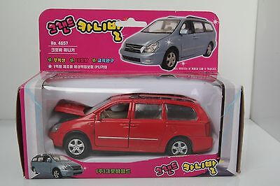KIA Motors SEDONA RED COLOR Grand Carnival Diecast Minicar Miniature Van Vehicle
