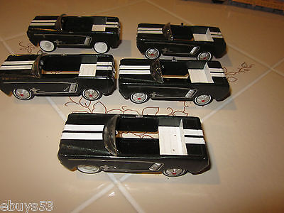Hallmark-2007-Kiddie-Car-Classic-1964-1-2-Ford-Mustang lot of 5, used