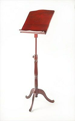 EMS Overture Wooden Sheet Music Stand, MAHOGANY **NEW**