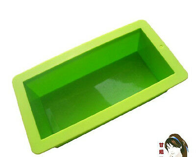 1000ML Flexible Rectangular Soap Silicone Mold Making for Homemade Soap Crafts