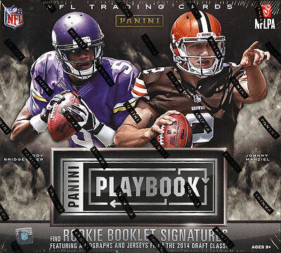 2014 Panini Playbook Football Factory Sealed Hobby Box