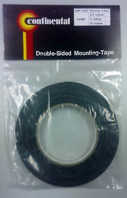 Double Sided Tape 10M Roll, 12mm Wide 0.8mm Thick