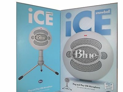 Blue Microphones - Snowball iCE USB Microphone - White