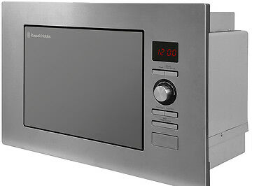 Russell Hobbs 20L Stainless Steel Integrated Microwave RHBM2003
