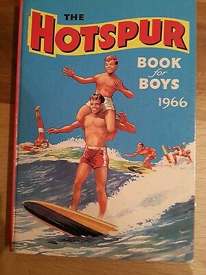 The Hotspur Book for Boys 1966  Near Mint Condition