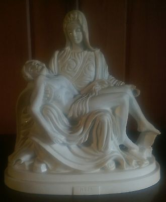 Michelangelo's Christ and Madona (PIETA) Statue by A. Giannetti