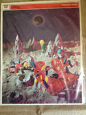 Vintage Whitman's Frame Tray Puzzle 1969 Space Age Astronaut Krazy Ikes NM