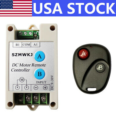 Wireless DC 9-30V Positive Inversion Remote Control for DC Motor Linear Actuator