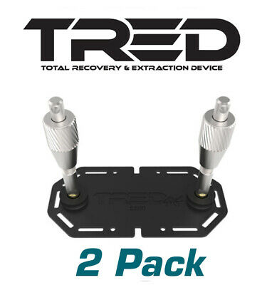 Tred - Pair Mounting Kits Suit Tred 1100 Recovery Tracks Roof Rack Mount Or Flat