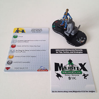 Heroclix Brave and the Bold set Goodness and Mercy #025 Uncommon figure w/card!