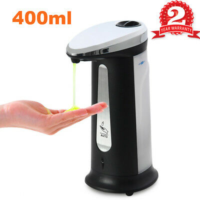 Smart Automatic Soap Sanitizer Dispenser Infrared Sensor Touch-free Bathroom