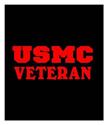 Usmc Veteran 4X9 Car Truck Window Laptop Sticker Decal St1