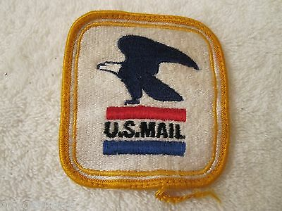 Vintage U.S MAIL Post Eagle Cloth Carrier Patch FREE SHIPPING