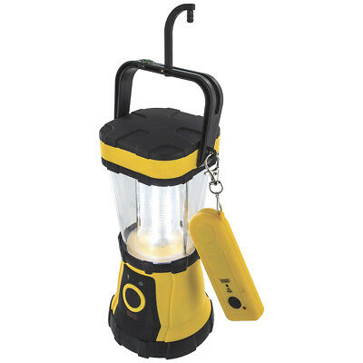 Highlander 24 LED Lantern Remote Control Lamp Hanging Compass Tent Light Yellow