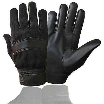 Prime Police Gloves Top Quality Real Leather Tactical Search Duty Petorl 7002