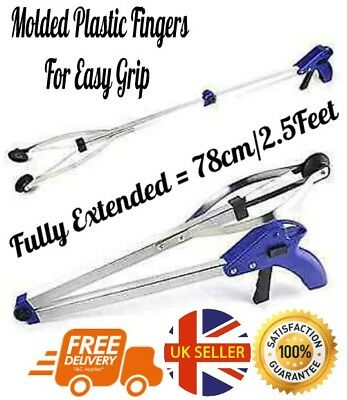 Easy Long Reach Grabber Arm Extension Help Tool Mobility Disability Elderly Aid