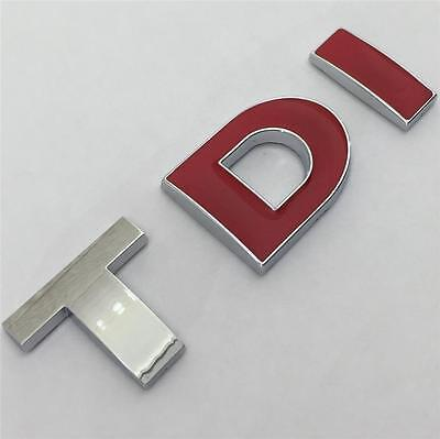 TDI Badge Emblem NEW For VW GOLF POLO LUPO PASSAT EOS CADDY MK4 MK5 MK6