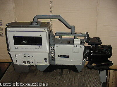 Ikegami HC-230 Pro Camcorders Lot of 2 w/ JVC SVHS  & Canon zoom lens $265. !!