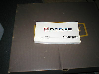 2008 dodge charger owners manual 10 00 picclick rh picclick com 2008 dodge charger owners manual online 2008 dodge charger repair manual