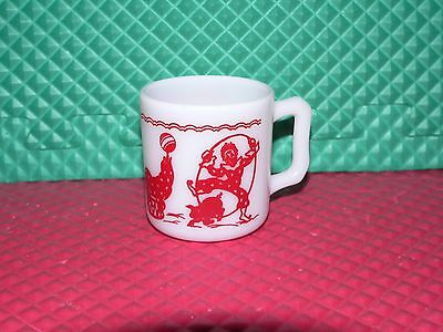 Vintage Atlas Hazel Circus Clown Childs Mug Cup Donkey Seal  Excellent Condition