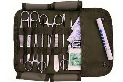 Military First Aid Kit Field Surgical Kit Basic emergency for minor surgery