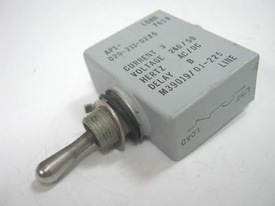 AIRPAX Military Grade Circuit Breaker Toggle Switch M39019/01-225