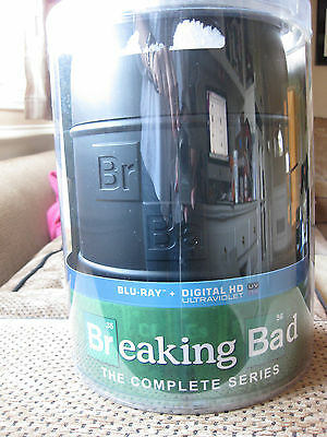 SEALED NIP Breaking Bad:The Complete Series 16 Blu-ray Disc Collector's Edition