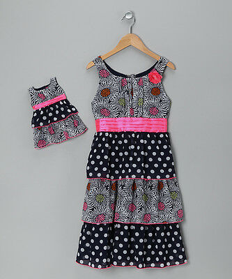 NEW DOLLIE & ME GIRL DOLL Floral Dress SZ 4 5 6 10 FITS AMERICAN GIRL 18'' Doll