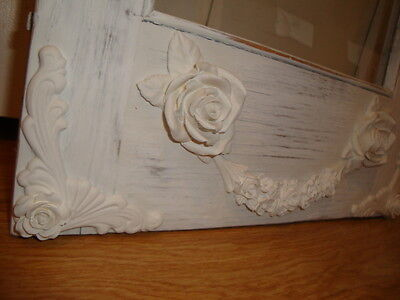 Fancy Baroque Corner w/Rose Applique* 4pc L&R. Furniture Architectural Resin #1