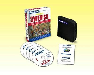 NEW 5 CD Pimsleur Learn to Speak Basic  Swedish Language