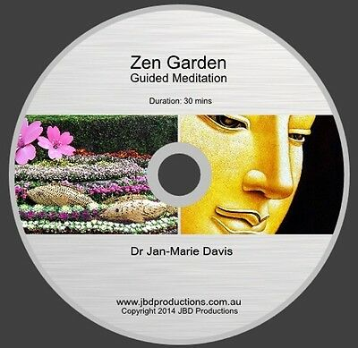 Zen Garden Guided Meditation CD by Dr Jan-Marie Davis Relax Music & Voice