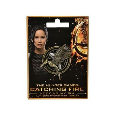 NECA The Hunger Games: Catching Fire Mockingjay Pin Prop Replica New