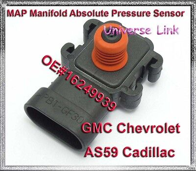 MAP Manifold Absolute Pressure Sensor fit Cadillac Chevrolet GMC AS59