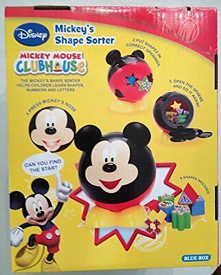 Disney Mickey Mouse Clubhouse Mickeys Shape Sorter