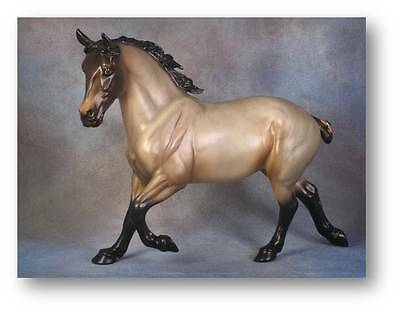 Limited Edition Breyer Horses Mid States Brabant 701227 Bay Roan Draft Horse NIB