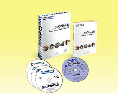 Pimsleur Chinese (Mandarin) Language 5 CD + Book  155 pages