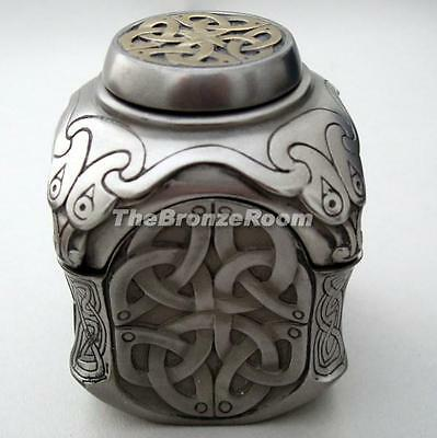 Yin Yang Celtic Jewellery Trinket Box with Secret Compartment