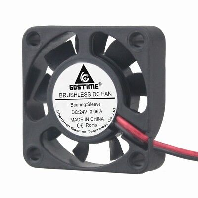 1pieces 40x40x10mm 4010s DC 24V 2P 9Blade Mini Brushless Cooler Cooling fan 4CM