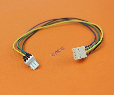 1Pcs Lot 12V 4Pin Male to 4pin Female PC Fan Power Extension Lengthen Cable Wire