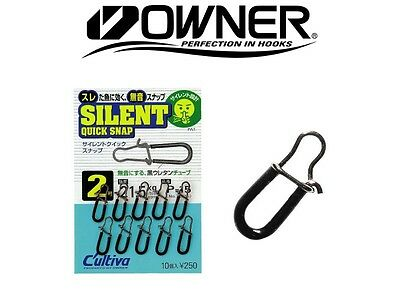 Owner SILENT Quick Snap Cross Lock Swivel Snap Clips - 1 Pack - Choose your size