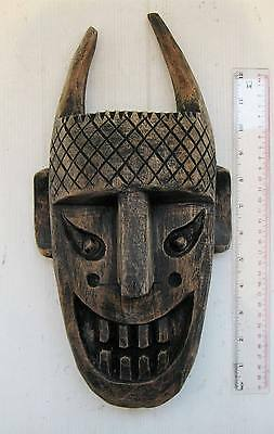 MAGNIFICENT OLD Yao Hill Tribe Teak Shaman Exorcism Mask HANDMADE