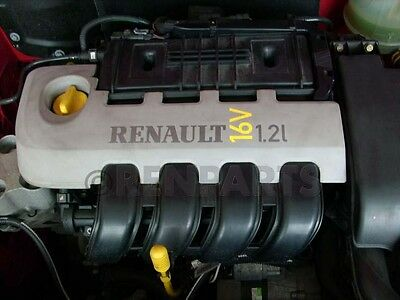 Renault Clio II 2000-2004 1.2 16V D4F 712 Engine