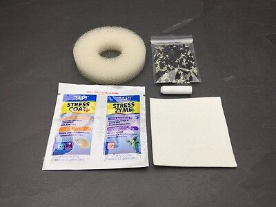 BiORB HALO COMPATIBLE FILTER SERVICE KIT REFILL INC AIR STONE & CLEANING PAD ORB