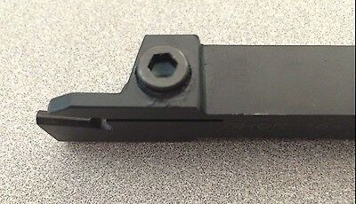 ISCAR GHGR 16-4 Indexable Turning Grooving Cut Off Self Grip Tool Holder New