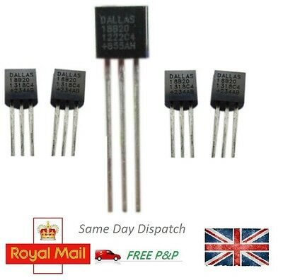 1 & 5pcs DS18B20 Digital Temperature Sensor Chip Dallas TO92 Thermometer Thermal
