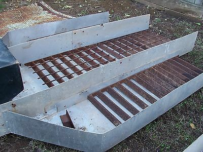 "8"" SLUICE BOX AND JET FOR GOLD DREDGE/GOLD MINING KEENE***"