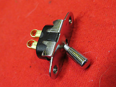 1933-34 Ford and 35-47 pickup truck NEW dash light switch  flathead   21C-13740